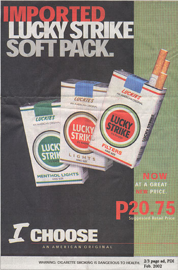 Sale of cigarettes Marlboro in New Zealand